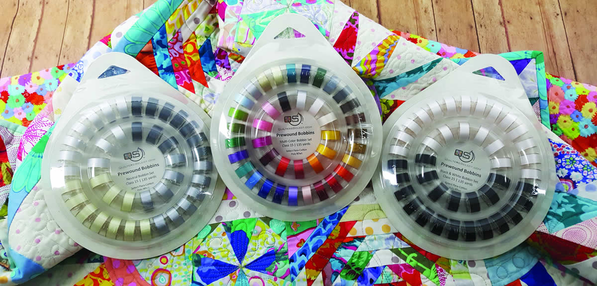 Quilters Select 40 Bobbin Sets