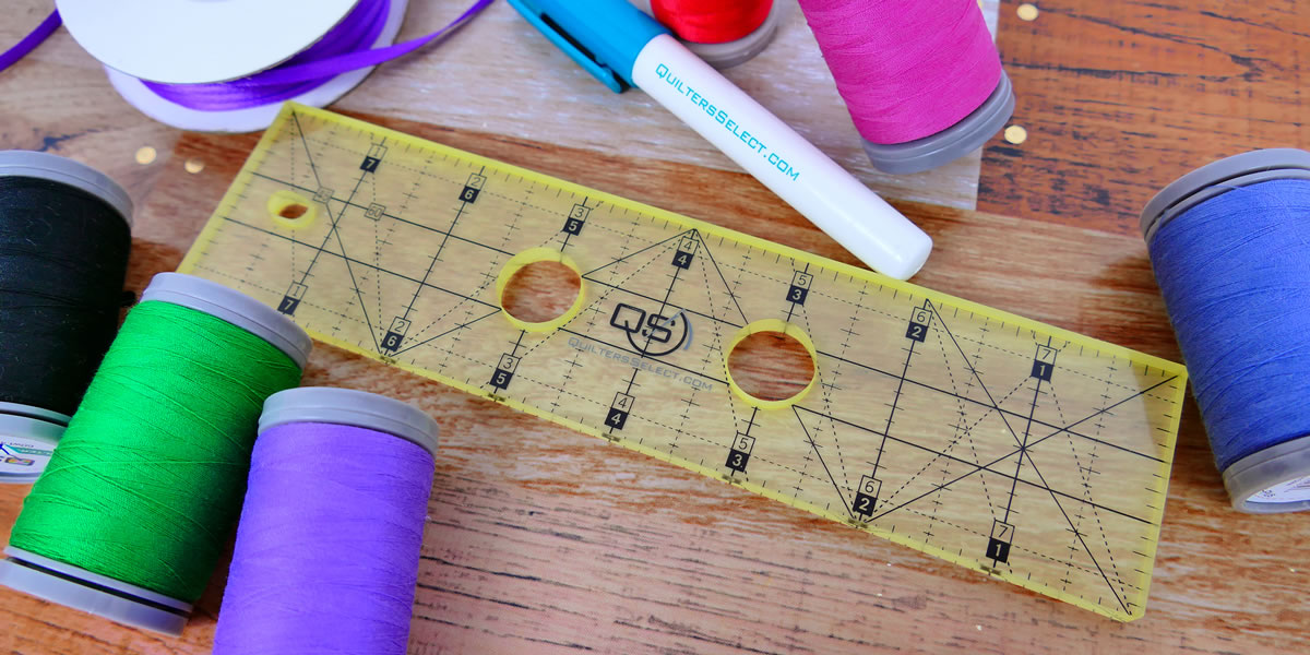 Quilters Select Machine Rulers